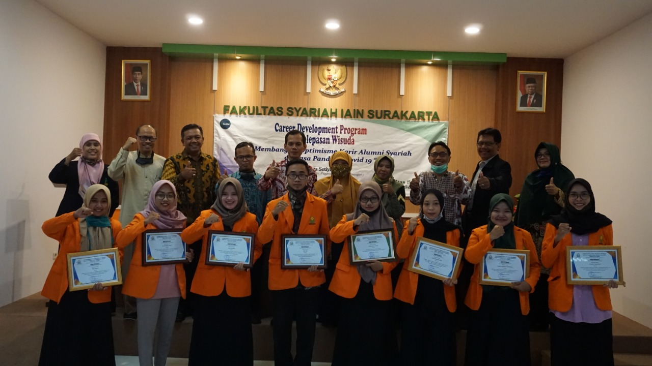 Career Development Program (CDP), Membangun Optimisme Alumni Fakultas Syariah di Masa Pandemi Covid 19