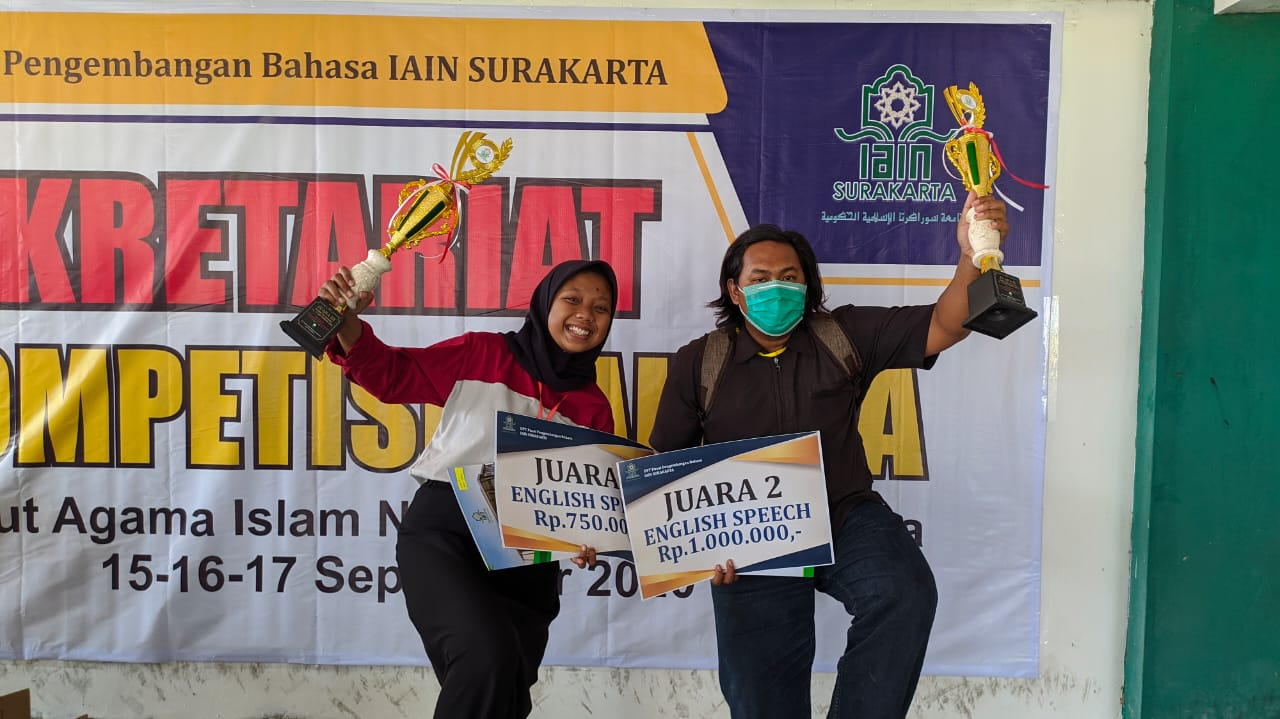 Hebat, Mahasiswi MAZAWA Raih Juara 3 National Speech Competition